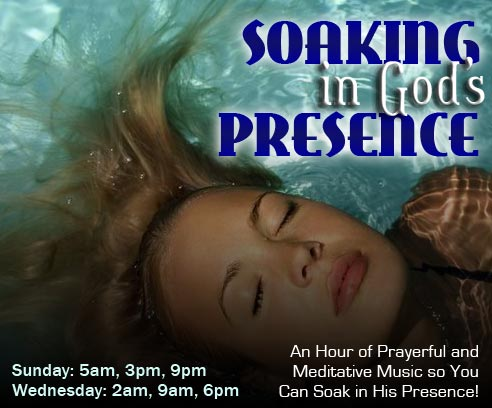 Soaking in God's Presence
